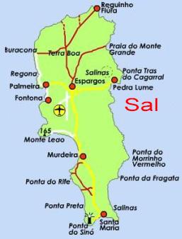 Wo Liegt Kapverden Karte.Reisebericht Kapverden Strandurlaub Auf Sal Reiseberichte Von